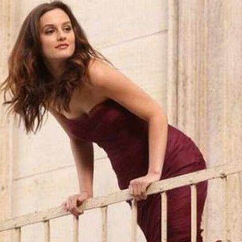 Leighton Meester: du monde au balcon