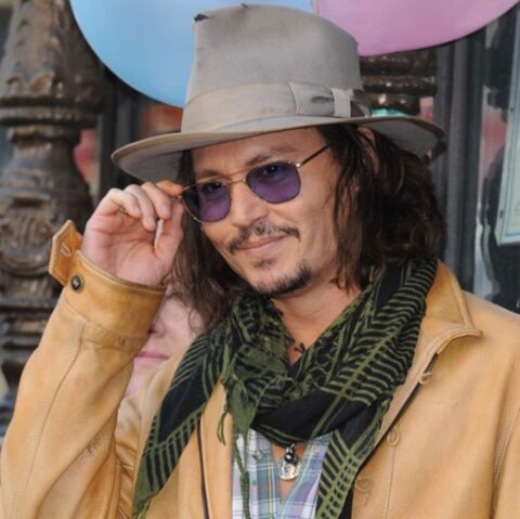 Johnny Depp pirate la mode