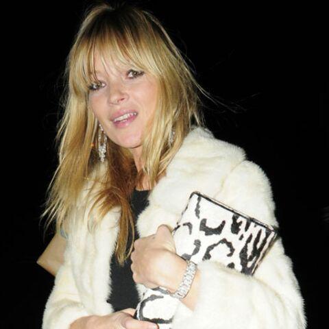Kate Moss, Hilary Swank, Anna Wintour: toutes en blanc cet hiver!