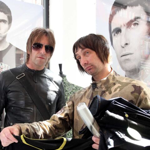 Liam Gallagher débite à Londres