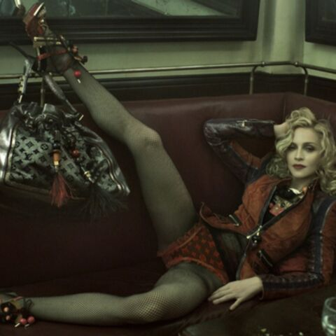 Madonna cartonne chez Vuitton