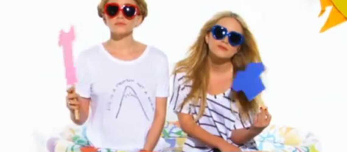 Concours de T-shirt mouillé pour les sœurs Olsen