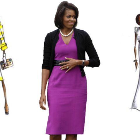 Diane Von Furstenberg «croque» Michelle Obama
