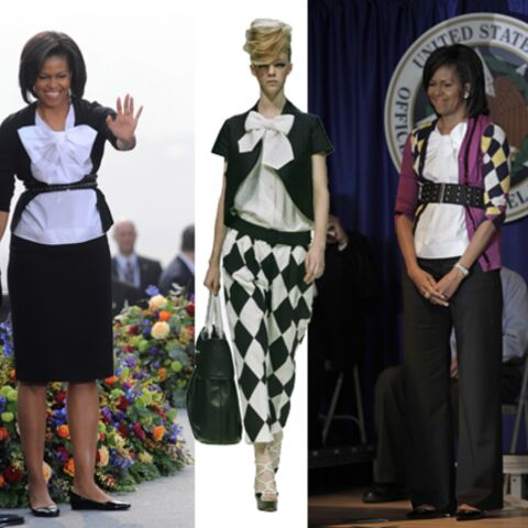 Michelle Obama, fashion mais pas victime