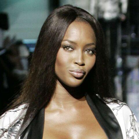 Naomi Campbell nouvelle égérie d'Yves Saint Laurent