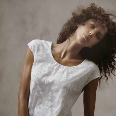 Noémie Lenoir fait ses premiers pas dans le stylisme