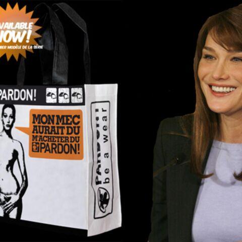 Pardon Carla Bruni-Sarkozy: voici le sac qui va faire scandale