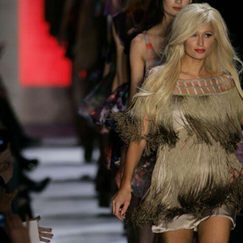 Paris Hilton, taille mannequin