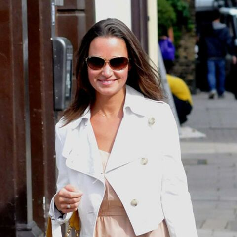 La robe longue de Pippa Middleton