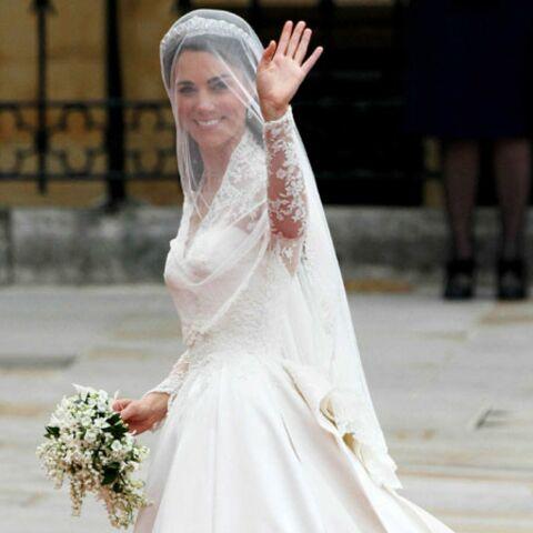 La robe de Kate, librement inspirée de Grace Kelly