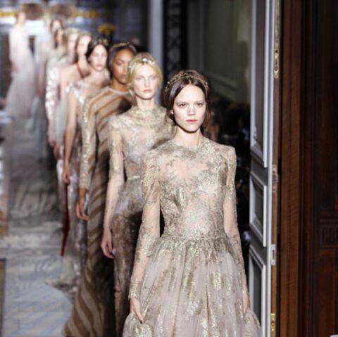 Princesses éthérées chez Valentino