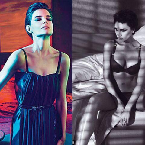 Katie Holmes et Victoria Beckham: fashion match en haut de l'affiche