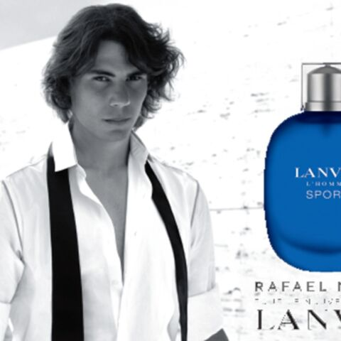 Rafael Nadal, l'homme sport de Lanvin
