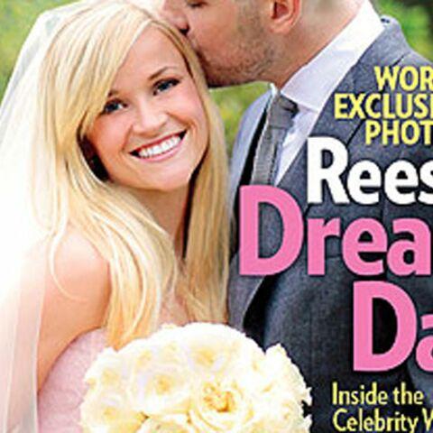 Reese Witherspoon s'est mariée en rose