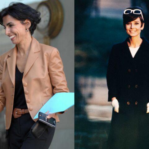 Rachida Dati: à la façon d'Audrey Hepburn
