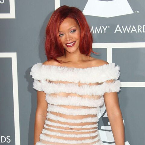 Rihanna en mariée de Jean-Paul Gaultier pour les Grammy Awards