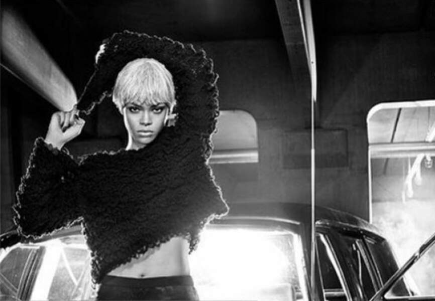 Rihanna, méconnaissable