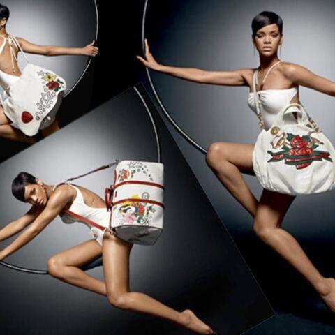 Rihanna se met en quatre pour Gucci et l'Unicef