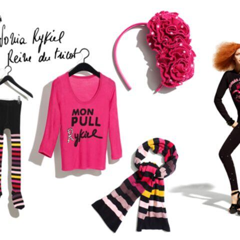 Sonia Rykiel tricote chez H&M