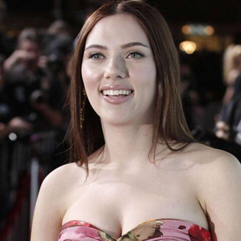 Scarlett Johansson est brune!