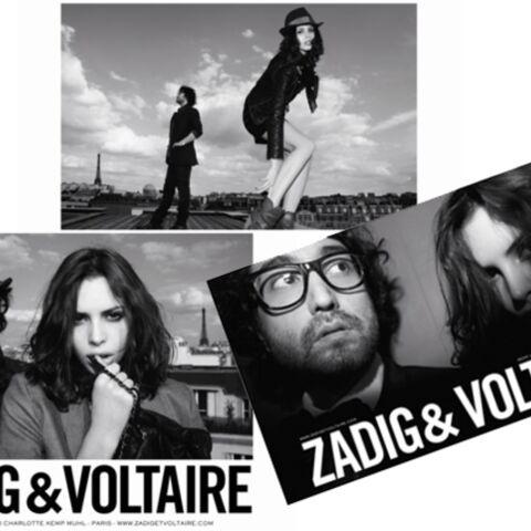 Sean Lennon: icône stylée pour Zadig & Voltaire