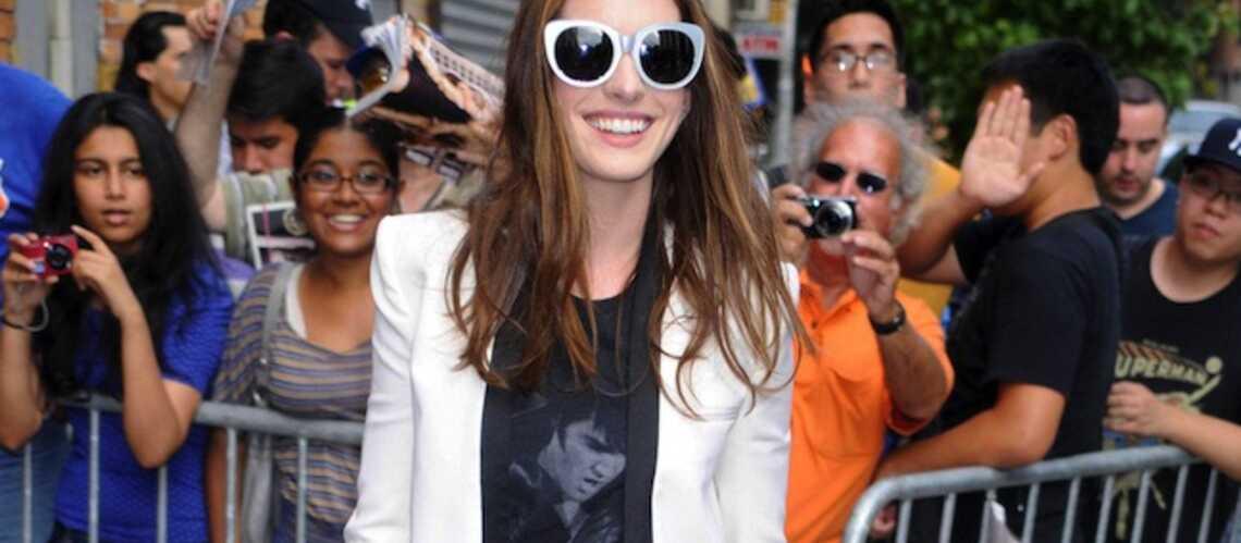 Shopping boyish rock comme Anne Hathaway