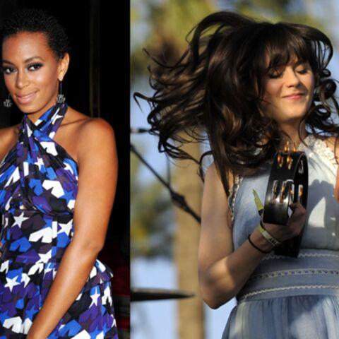 Une touche de Rimmel pour Solange Knowles et Zooey Deschanel