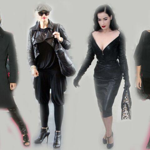 Dita Von Teese, Gwen Stefani, Lorie…fans de cuir