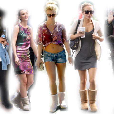 Jennifer Aniston, Lily Allen, Britney Spears… atteintes de UGG mania