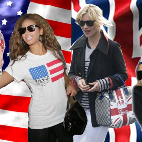 Fashion match: L'Union Jack vs l'US flag