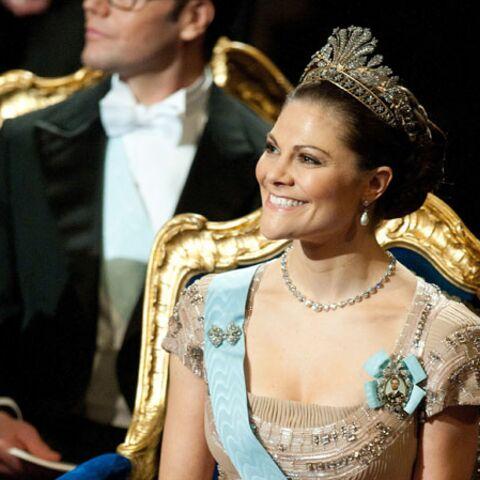 Victoria de Suède vote Elie Saab