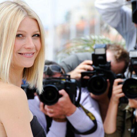 Gwyneth Paltrow au Printemps pour lancer les fêtes d'hiver