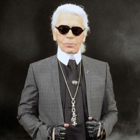 Karl Lagerfeld joue les Pères Noël