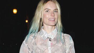 Beauty look – Les mèches bleues «dip dye» de Kate Bosworth