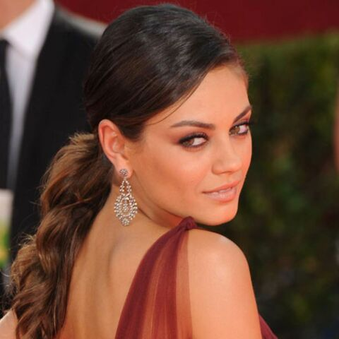 Les beauty looks de Mila Kunis
