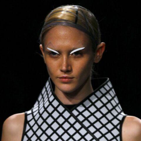 Tendance beauté des défilés – Néo-futuriste chez Gareth Pugh