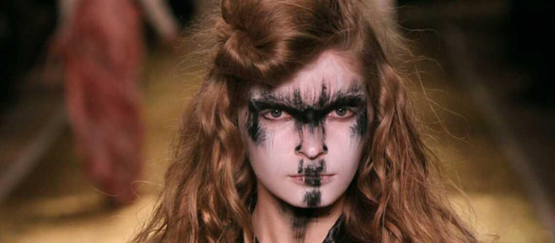 Tendance beauté des défilés – Bestiales chez Vivienne Westwood