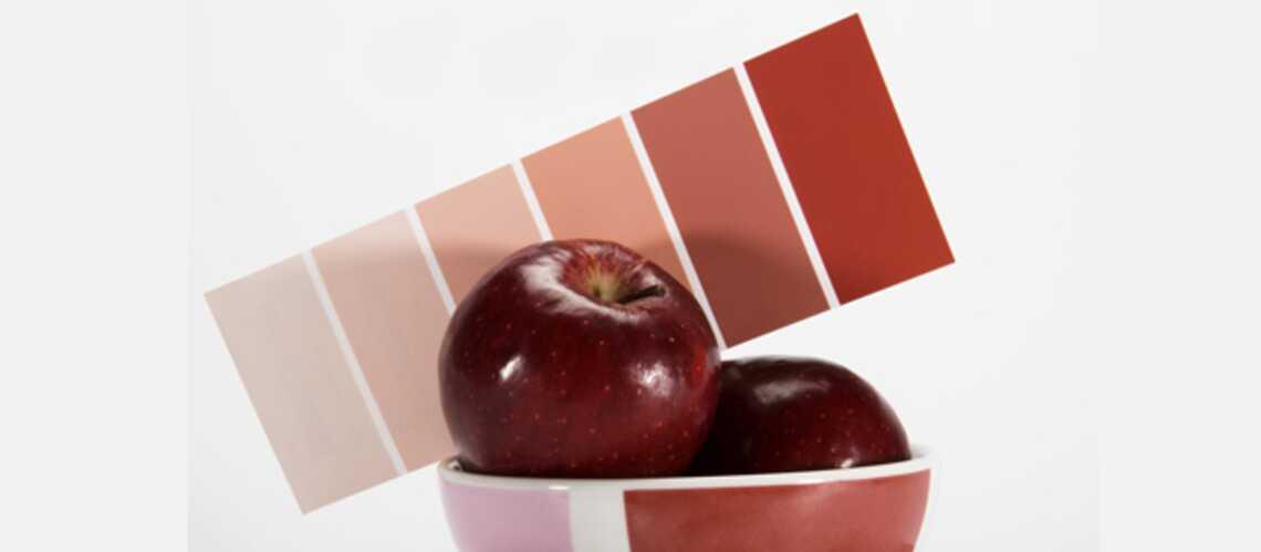 Des cuisines colorées
