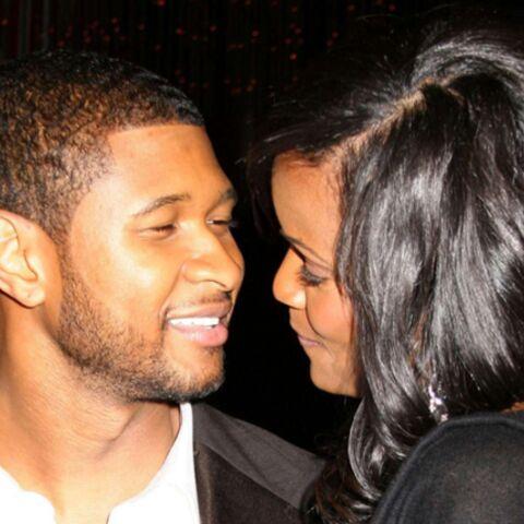 Usher et Tameka: le mariage, c'est ce week-end!