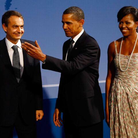 Zapatero, pas ravi de présenter ses filles