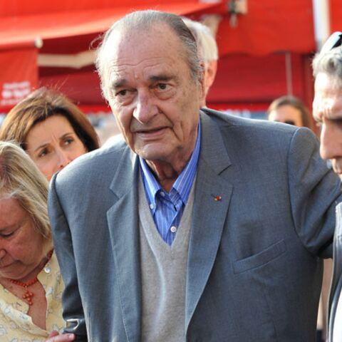 Jacques Chirac en vacances à Saint-Tropez