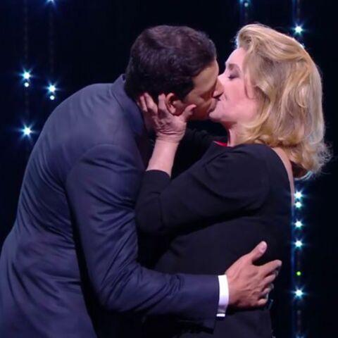 Cannes 2016: Laurent Lafitte et Catherine Deneuve, un vrai baiser de cinéma