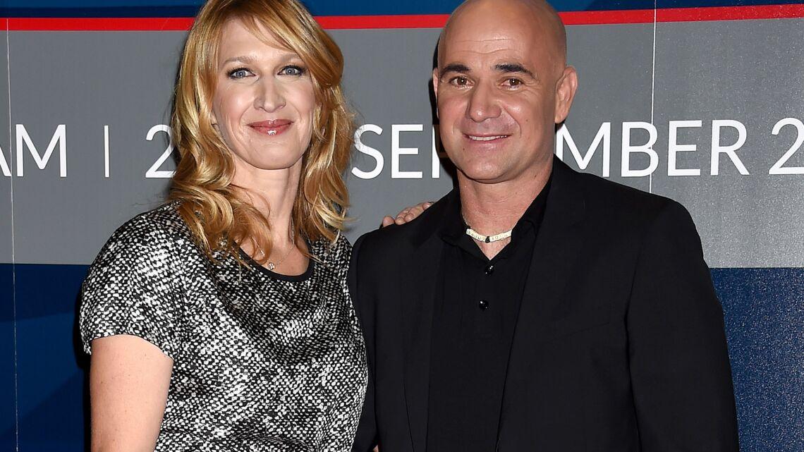 André Agassi et Steffi Graf, en couple aux Longines Masters de Los Angeles