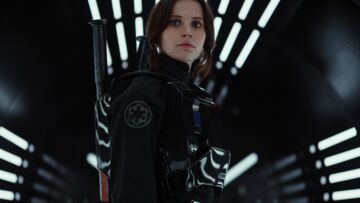 Star Wars Rogue One: Felicity Jones rebelle magnifique