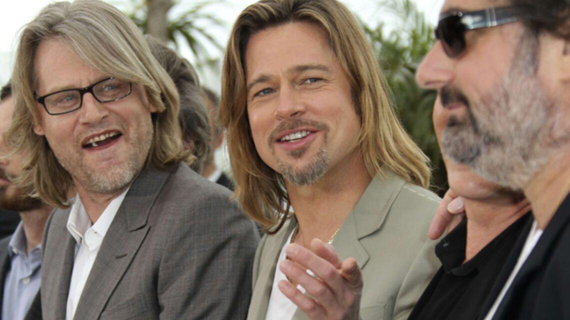 Brad Pitt, pas si seul à Cannes