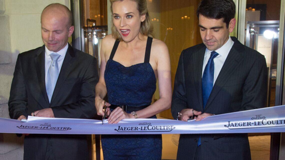 Gala By Night: Diane Kruger lumineuse pour la soirée Jaeger-LeCoultre