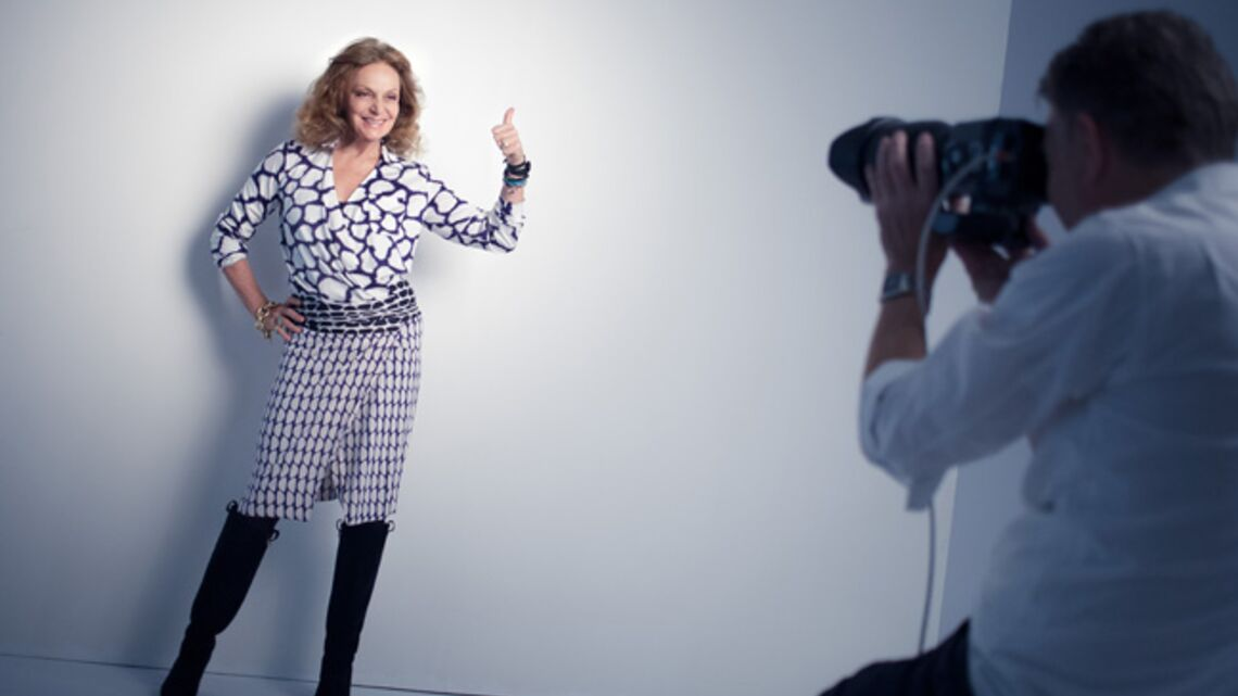 Vidéo- Diane Von Furstenberg, rédactrice exceptionnelle pour Gala