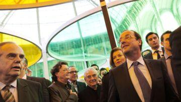 Vidéo- François Hollande s'impose à Monumenta