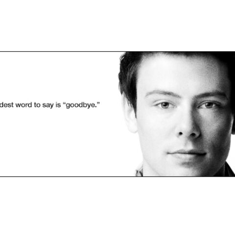 Regardez- Glee pleure son héros Cory Monteith