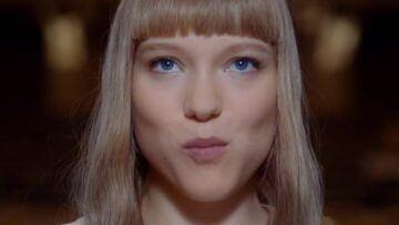 Vidéo – Léa Seydoux, égérie sixties pour Prada Candy L'Eau
